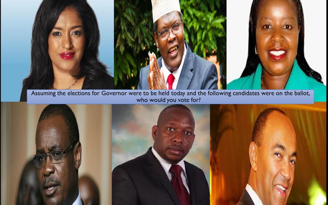 Nairobi Countytrak Gubernatorial Poll